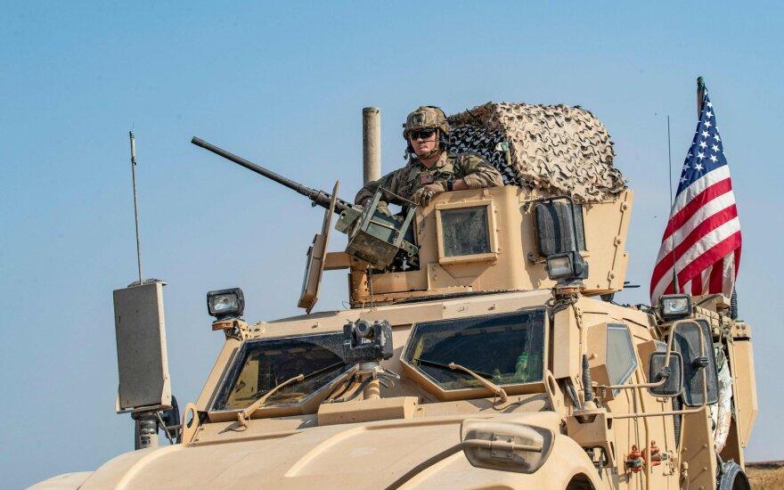 Irake įvesti apribojimai JAV vadovaujamos koalicijos pajėgų judėjimui