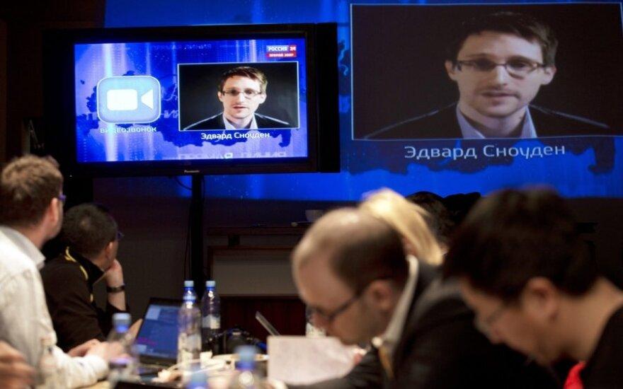 E. Snowdenas V. Putino laidoje