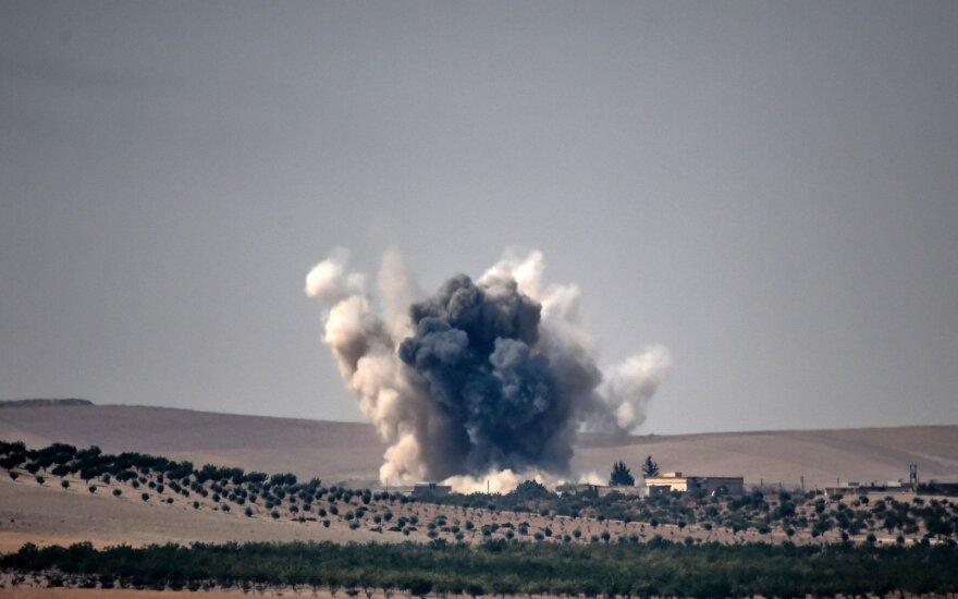 Sirija: skelbiama, kad netoli Alepo žuvo aukšto rango kovotojų grupuotės vadas