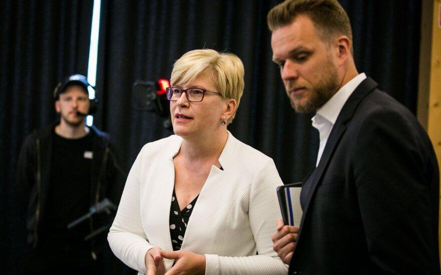 Landsbergis ir Šimonytė įvedė savo korekcijas: konservatoriai turės ir du naujus ryškius veidus