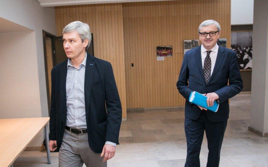 Rimvydas Paleckis ir Audrius Siaurusevičius