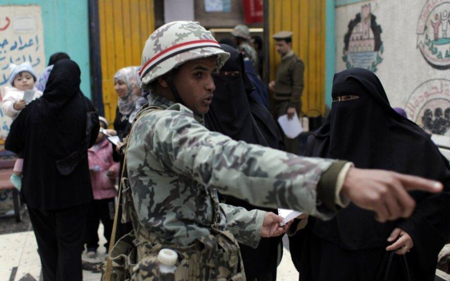 Egipto armija perdavė įstatymų leidžiamąją valdžią