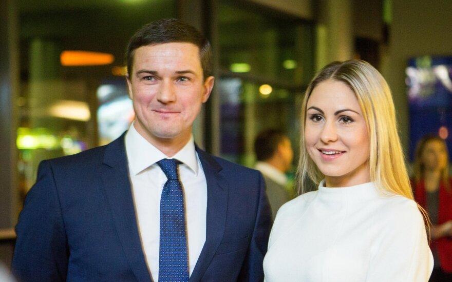 Andrejus Zadneprovskis ir Laura Asadauskaitė-Zadneprovskienė
