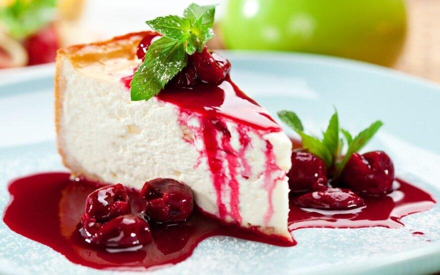Gardžiausias pasaulyje sūrio pyragas, kurio nereikia kepti