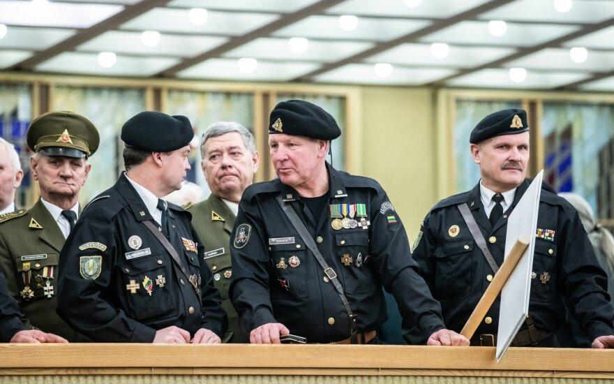 Vicepirmininkas Nekrošius žada Sausio 13-osios gynėjams neterminuotus leidimus į Seimą