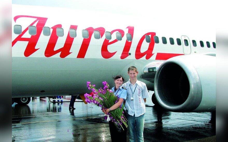 Antraisiais pilotais dirbantys Rūtelioniai turi svajonių: Linas – tapti orlaivio įgulos vadu, Ilona – sulaukti dienos, kai kolegos vyrai ims vertinti pilotes kaip lygiavertes partneres