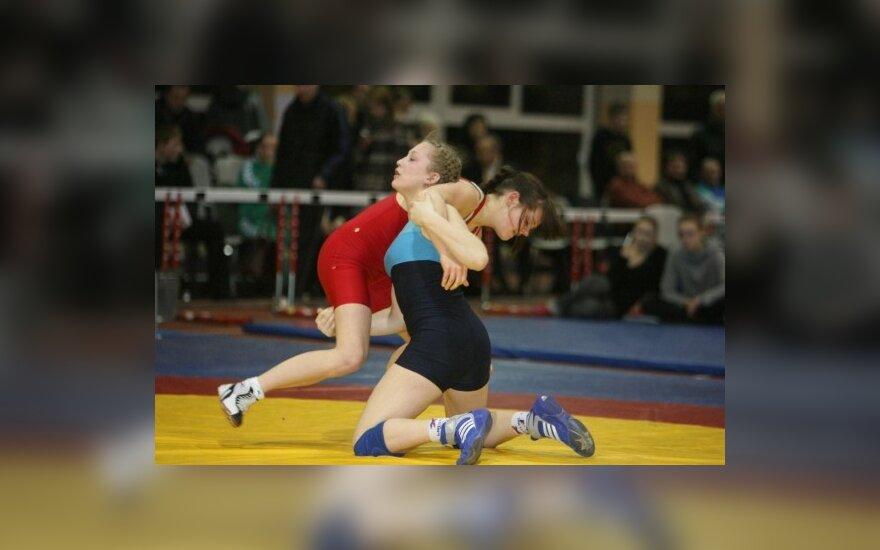Europos pirmenybėse Lietuvai atstovaus šalies imtynių čempionės
