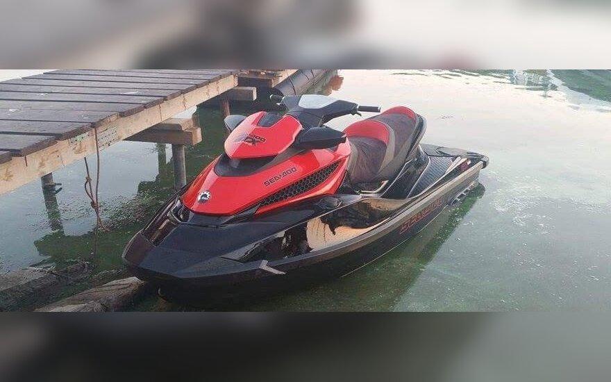 Prašo pagalbos: pavogtas vandens motociklas