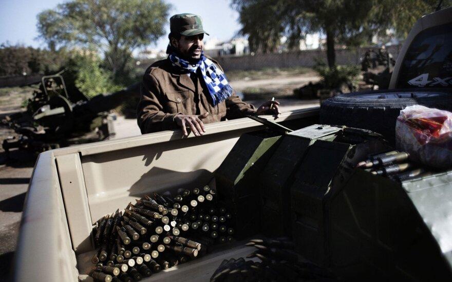 """JT Saugumo Taryba ragina užtikrinti """"tvarias paliaubas"""" Libijoje"""