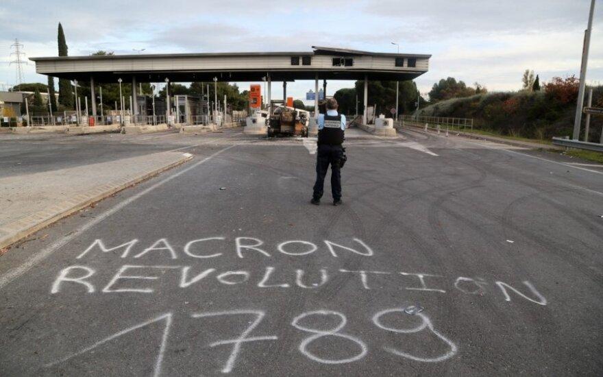 Prancūzijos greitkelis po riaušių