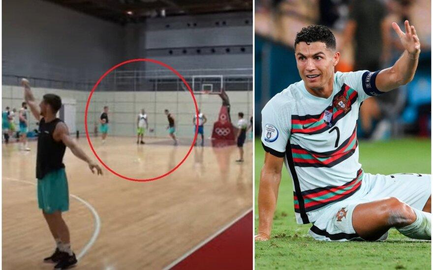 Edo Muričiaus smūgis, Cristiano Ronaldo
