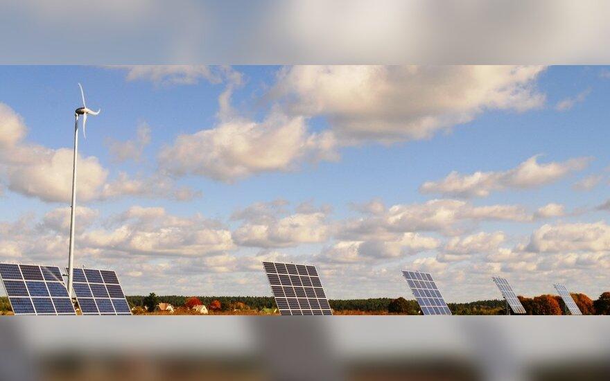 Suvilioti dosnių išmokų puolė statyti saulės jėgaines