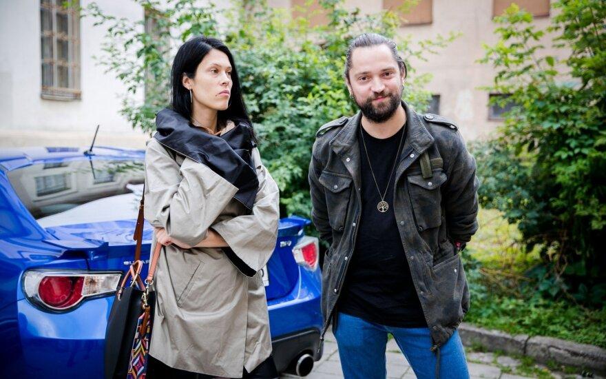 Leonas Somovas ir Žemyna Žymantaitė