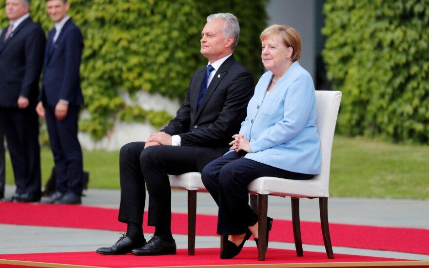 Berlyne – vokiškai prabilęs Nausėda ir netikėtas kvietimas