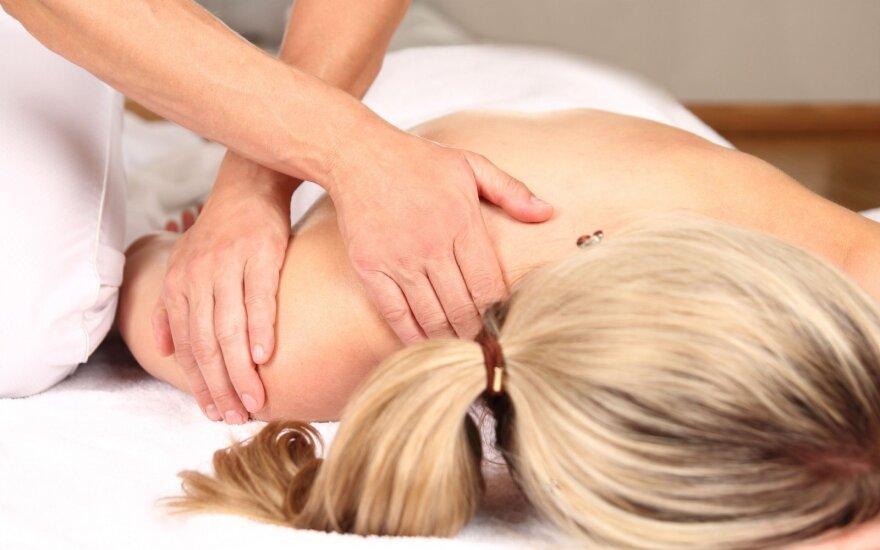 7 masažais sunaikinami streso padariniai