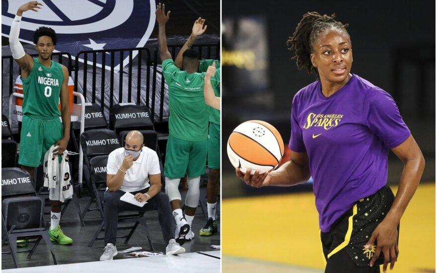Nigerijos vyrų krepšinio rinktinė, Nneka Ogwumike (dešinėje)