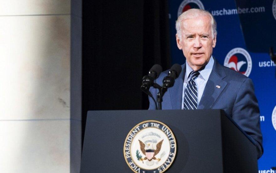 US Vice President Joe Biden  Photo Ludo Segers