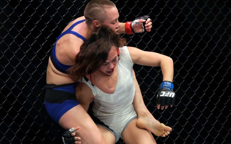 MMA dvikova: Rose Namajunas – Michelle Waterson
