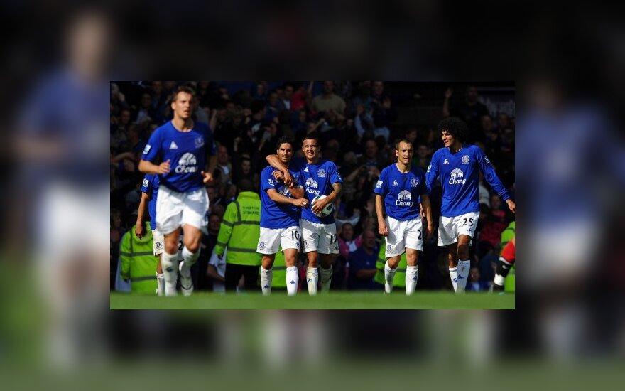 """""""Everton"""" futbolininkai išplėšė lygiąsias"""
