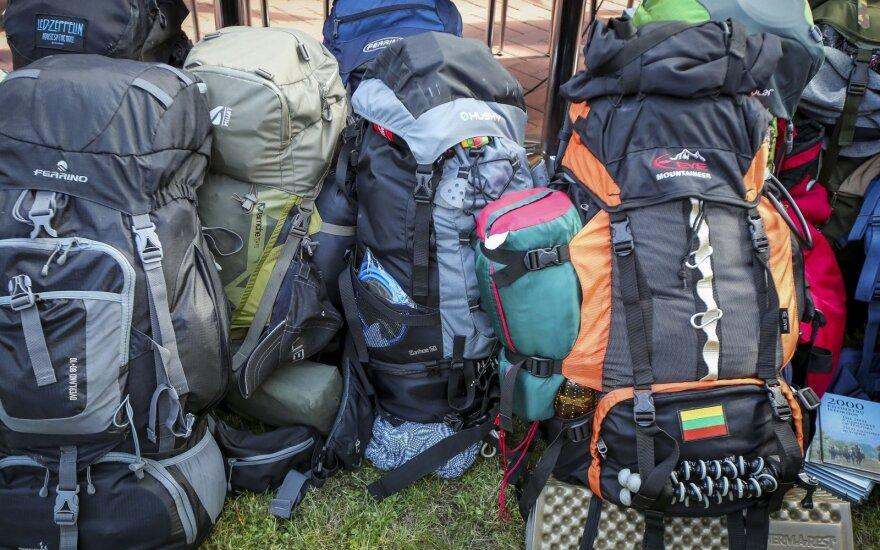 Keliaujantiems ilgai, bet taupiai: ką ir kaip reikia susipakuoti
