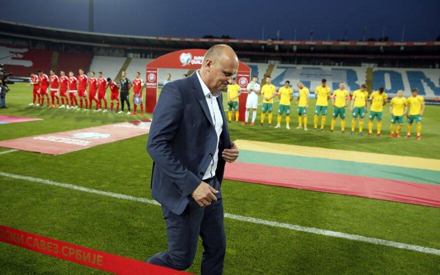 UEFA Tautų lygos burtai Lietuvos rinktinės šį kartą nenuskriaudė