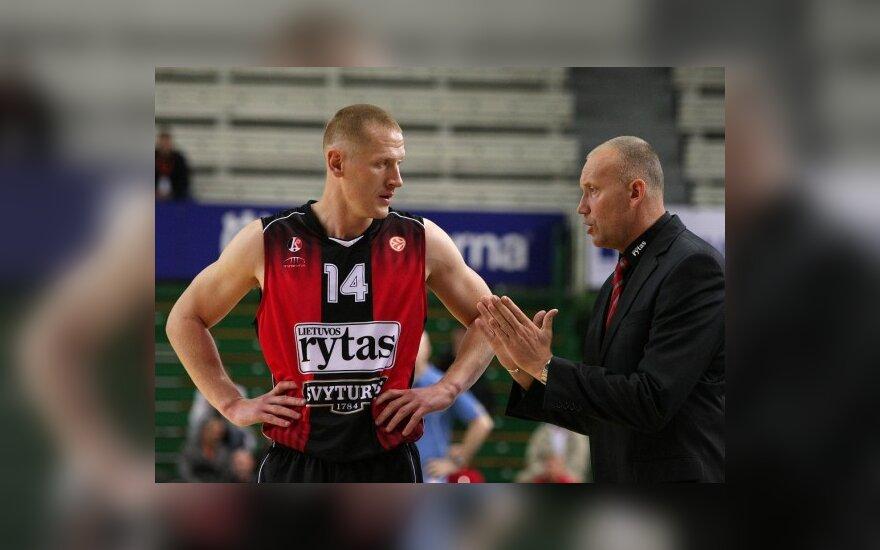 Donatas Zavackas ir Rimas Kurtinaitis