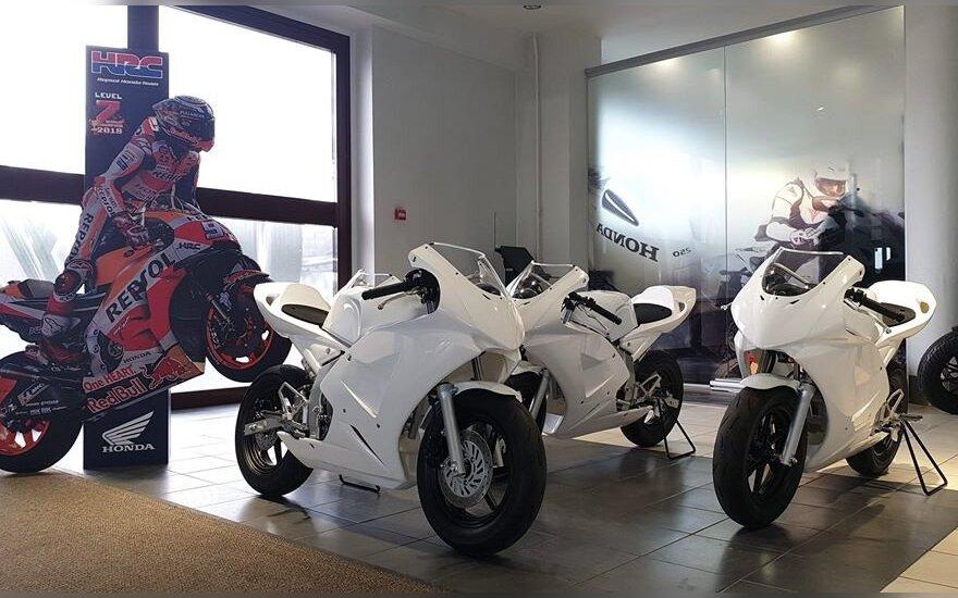 Lietuvoje atidaroma nauja vaikų motociklų sporto mokykla