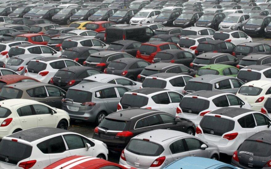 Naujų automobilių pardavimai Estijoje augo sparčiausiai ES