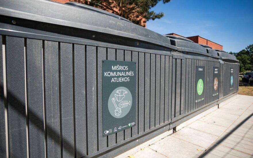 Vilniuje planuojama įrengti 16 pusiau požeminių konteinerių aikštelių