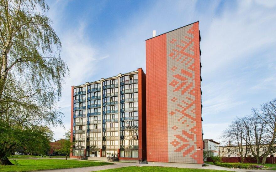 Renovuotas daugiabutis Klaipėdoje, Taikos pr. 3