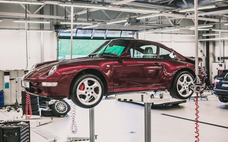 """Klasikinių """"Porsche"""" automobilių remontas"""