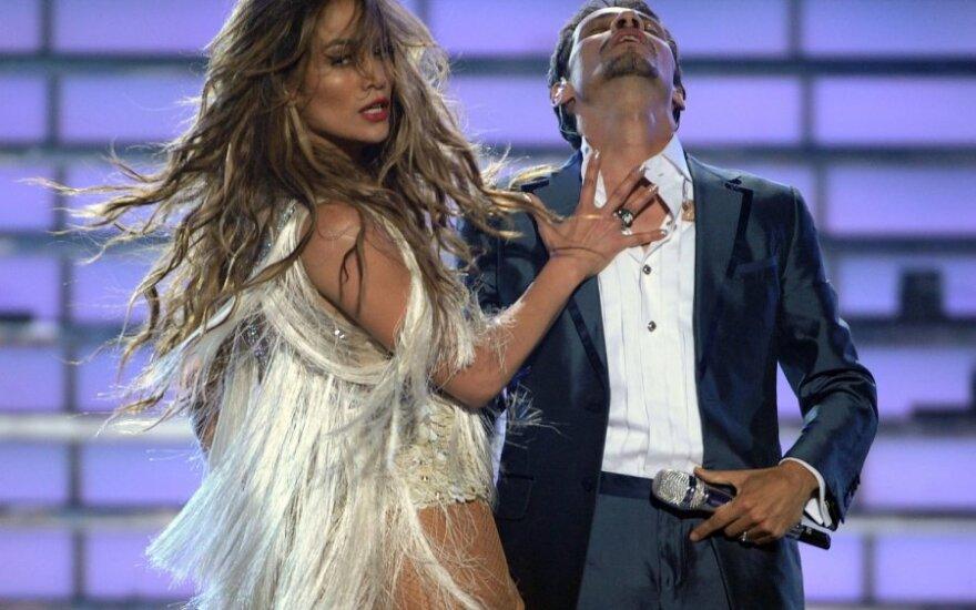 Jennifer Lopez ir Marcas Anthony