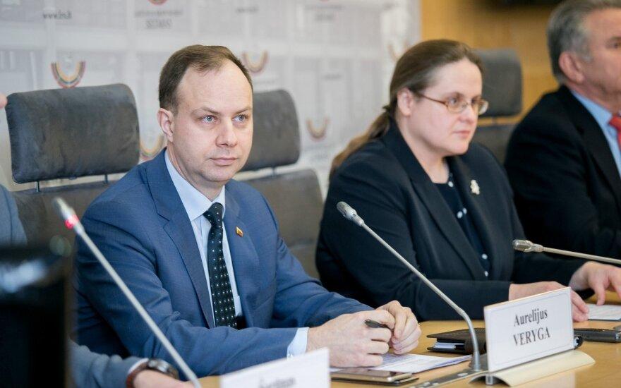 Aurelijus Veryga, Agnė Širinskienė