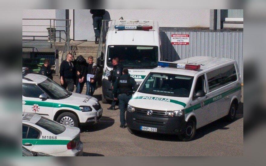 Detained suspect Egidijus Anupraitis