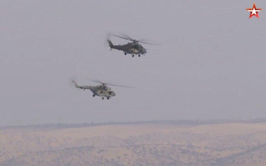 Rusija Sirijos šiaurėje įrengė aviacijos bazę, tvzvezda.ru stopkadras