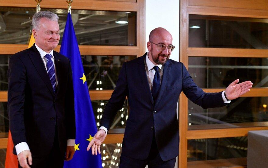 Šaltiniai: Nausėdai ir kitiems ES vadovams pateiktas naujas biudžeto pasiūlymas