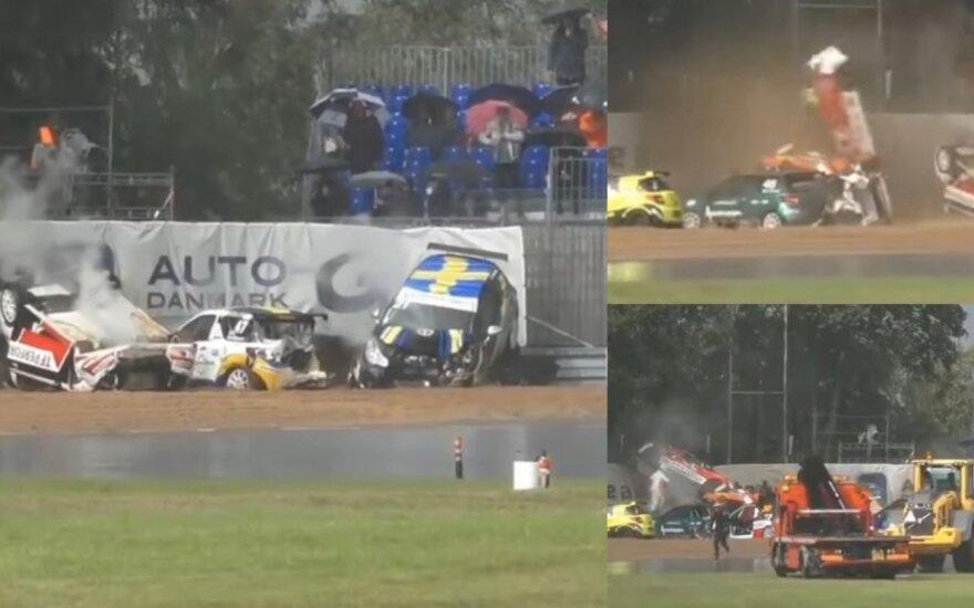 "STOP kadras iš ""Citroen DS3 Cup"" lenktynių Danijoje"