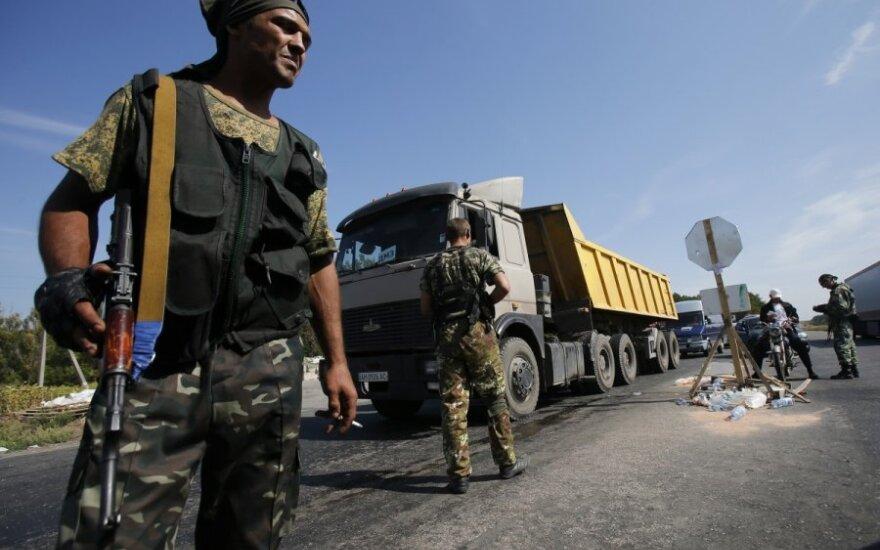Ukraina: rusai atsikratė žuvusių savo karių lavonų
