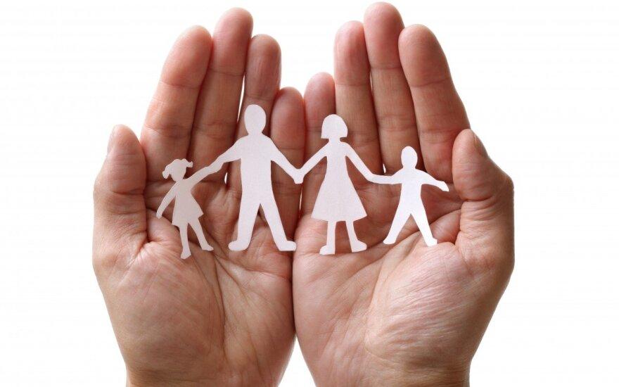 Mažytė svajonė turėti šeimą