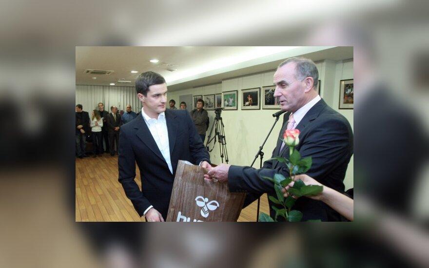 Apdovanojamas Andrejus Zadneprovskis