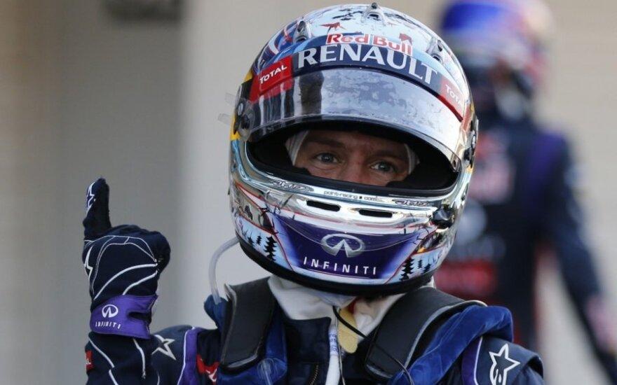 Sebastianas Vettelis laimėjo ir Japonijos etapą