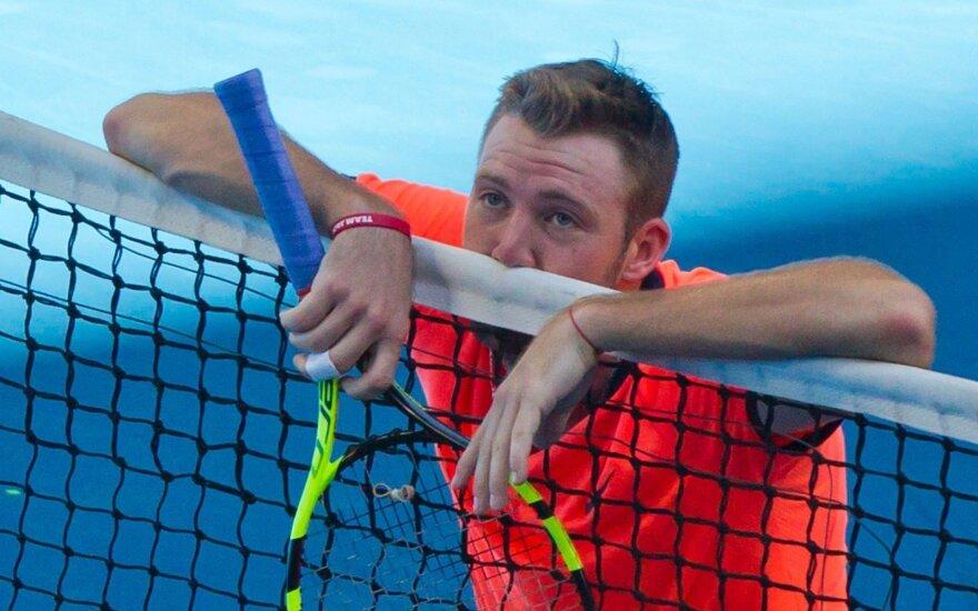 Amerikiečiai nugalėjo Ispanijos tenisininkus