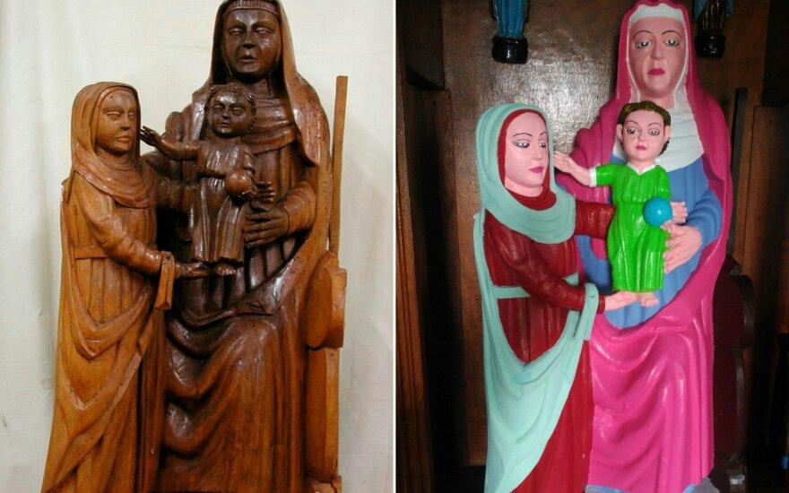 Mergelės Marijos skulptūra
