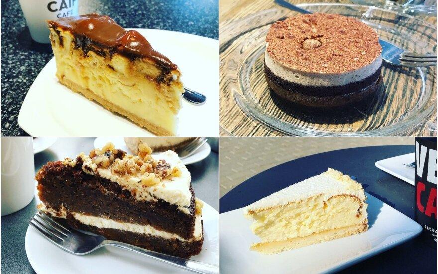 Išragavo desertus populiariausiuose kavos tinkluose: štai kur slepiasi skaniausias sūrio pyragas