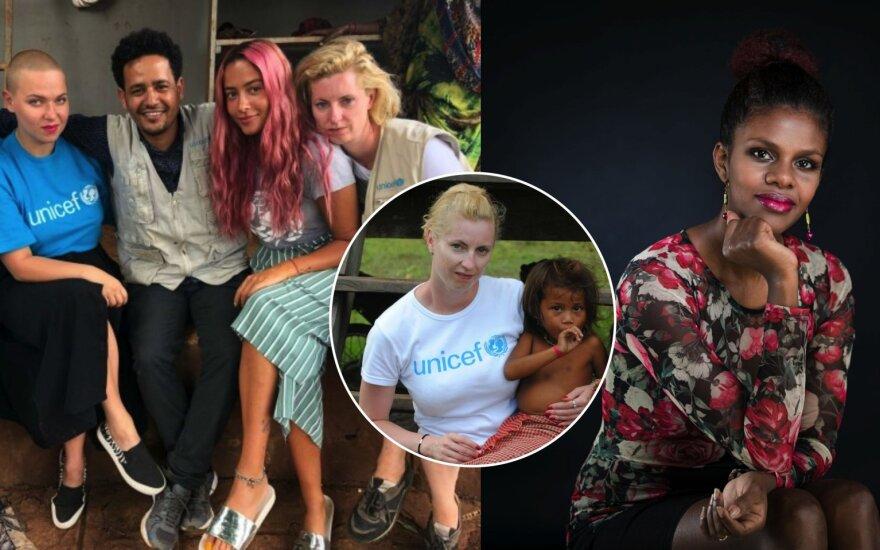UNICEF misijos Etiopijoje dalyviai, Jovita Majauskaitė-Staniulėnė, Eskedar Maštavičienė