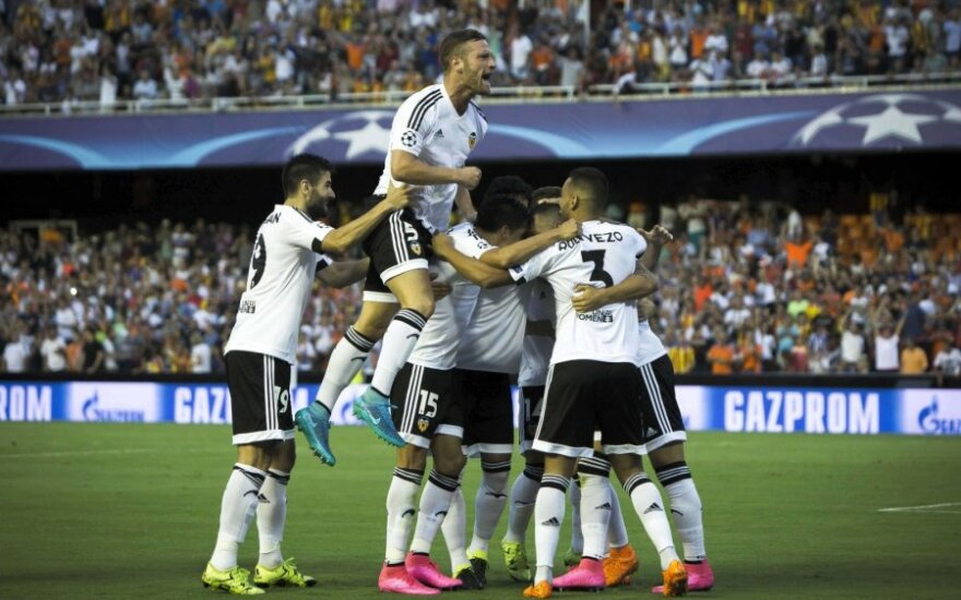 """Lemiamame UEFA Čempionų lygos atrankos etape – """"Valencia"""" pergalė ir """"Malmo"""" įvartis 95 min."""