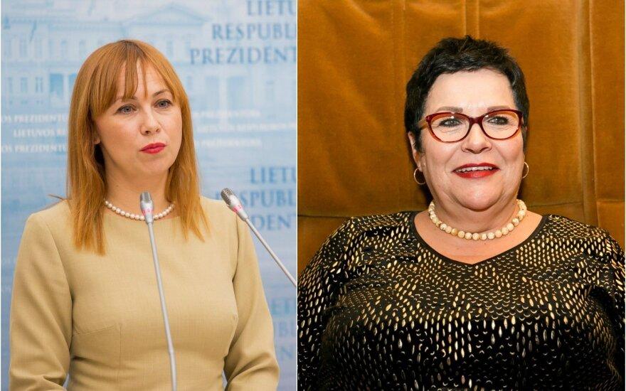 J. Petrauskienė, A. Pitrėnienė