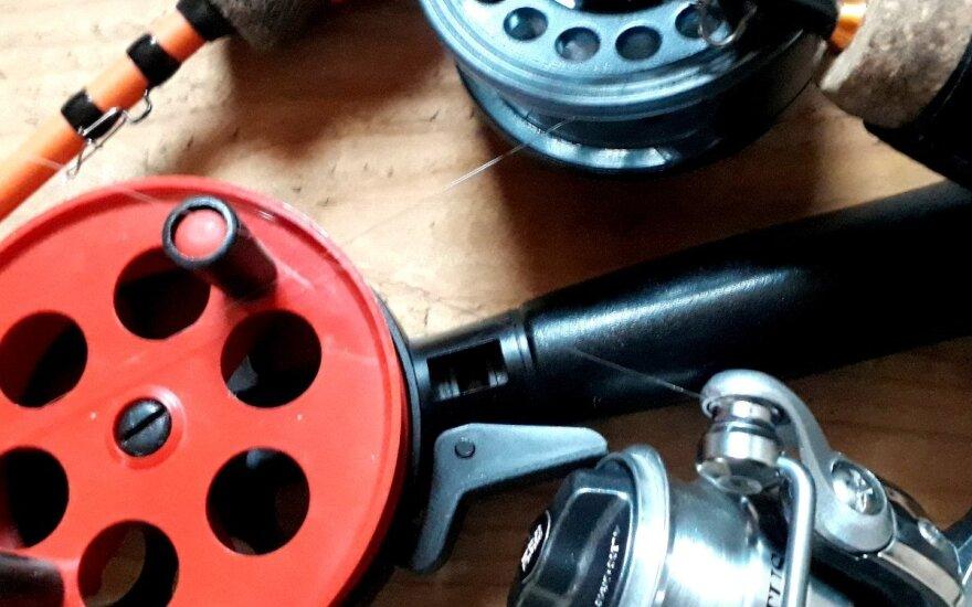 Žieminės žūklės įrankiai