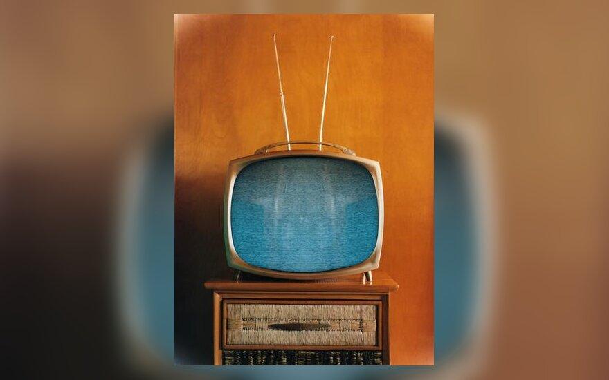 Televizorius, televizija, media