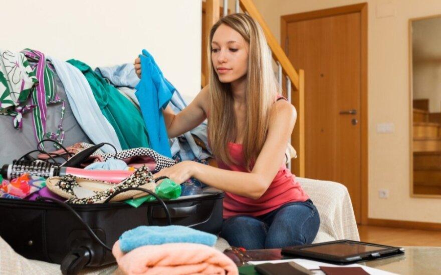 3 gudrybės: kaip viską, ko reikia kelionei, sutalpinti į rankinį bagažą?
